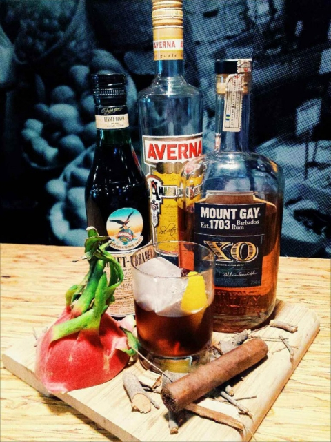 Cocktail: Papieros