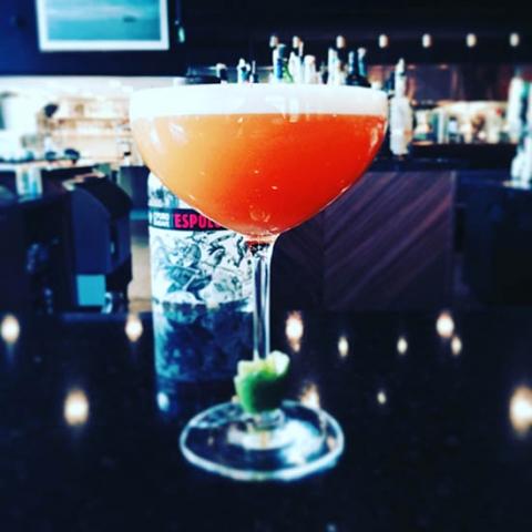 Cocktail: Sea Buckthorn Sour