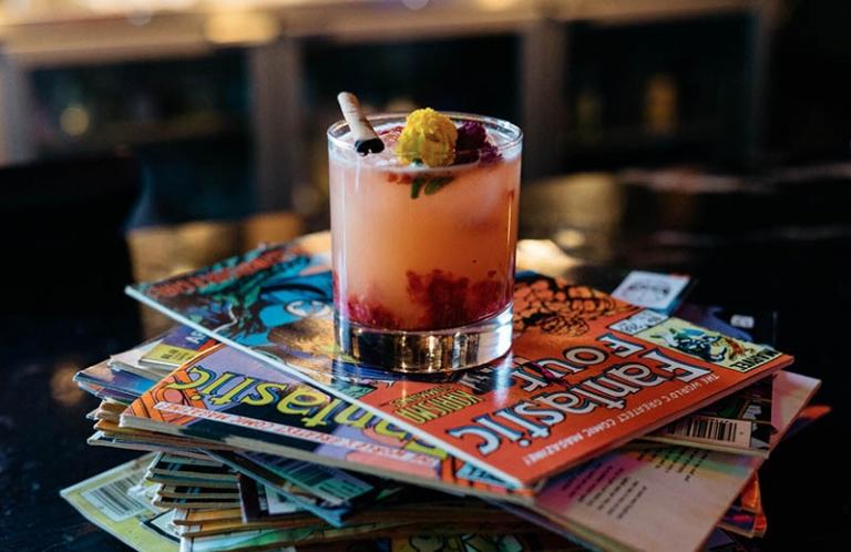 Cocktail: Bramble Bee | Bartender James Bailey