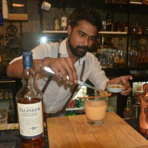 Cocktail: PBT (Pork Belly Talisker) | Bartender Atlas