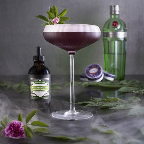 Cocktail: Fog and Berry | Bartender Atlas