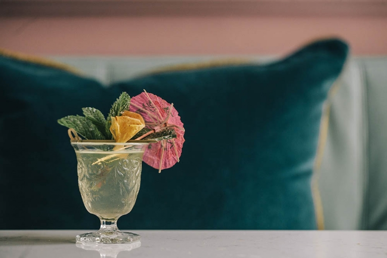 Cocktail: Fino Colada | Bartender Atlas