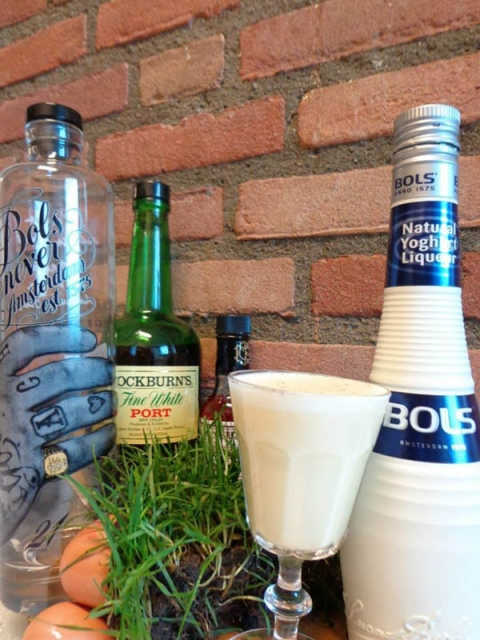 Cocktail: PHI-FLIP | Bartender Atlas