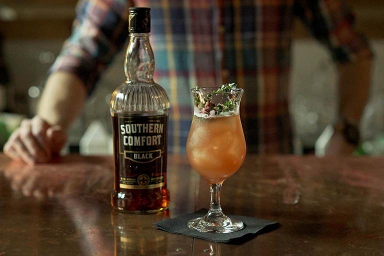 Cocktail: Black & Thorn Sour | Bartender Atlas