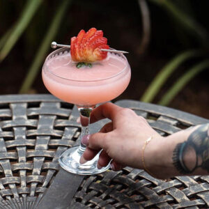 Cocktail: Wild Rose Margarita | Bartender Atlas
