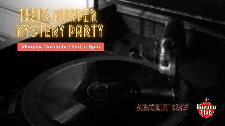 1920s Murder Mystery Party | Bartender Atlas