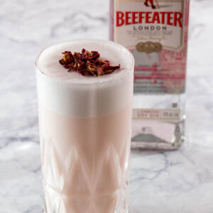Cocktail: Rose Fizz | Bartender Atlas